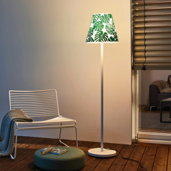 Swap | with green jungle shade | Outdoor free-standing lights | Moree