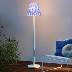 Swap | with blue line shade | Outdoor free-standing lights | Moree