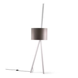 Luca Lean | Free-standing lights | maigrau