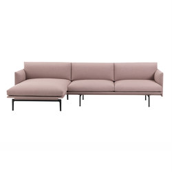 Outline Sofa | Chaise Longue - Left | Canapés | Muuto
