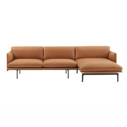 Outline Sofa | Chaise Longue - Right | Divani | Muuto