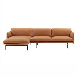 Outline Sofa | Chaise Longue - Left | Sofas | Muuto