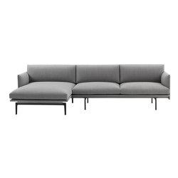 Outline Sofa | Chaise Longue - Left | Divani | Muuto