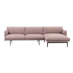 Outline Sofa | Chaise Longue - Right | Divani | Muuto