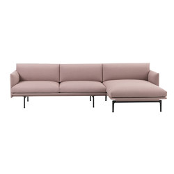 Outline Sofa | Chaise Longue - Right | Sofas | Muuto