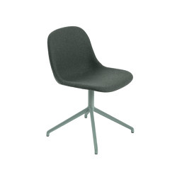 Fiber Side Chair | Swivel Base | Textile | Sillas | Muuto