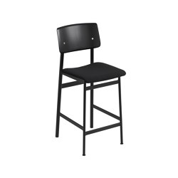 Loft Counter Stool | Textile | Bar stools | Muuto