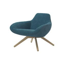X Big Lounge Chair | Sillones | ALMA Design