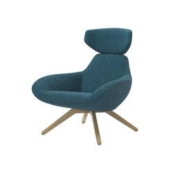 X Big Lounge Chair   Armchairs   ALMA Design