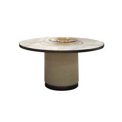 Signore degli anelli 72 Steel | Dining tables | Reflex
