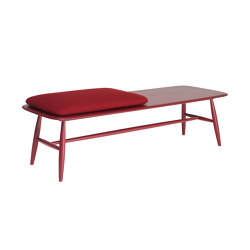 Von | Bench With Pad | Benches | L.Ercolani