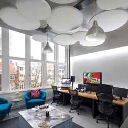 Class Circle | Sound absorbing ceiling systems | Soundtect