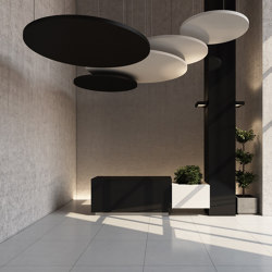 Class Circle | Sound absorbing suspended panels | Soundtect