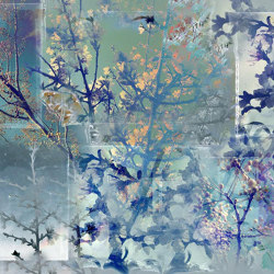Argento fior di seta | Wall coverings / wallpapers | WallPepper