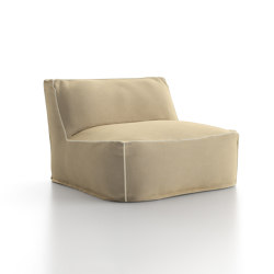 Soft Modular Sofa Central Module | Armchairs | Atmosphera