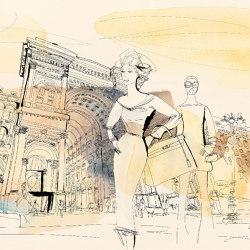 Fashion in Milan | Revestimientos de paredes / papeles pintados | WallPepper