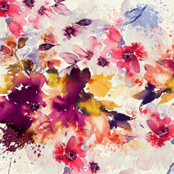 Flower palette | Wall coverings / wallpapers | WallPepper