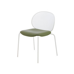 Unbeaumatin | Chair Indoor White Lacquered Base | Chairs | Ligne Roset