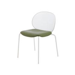 Unbeaumatin | Stuhl Indoor Gestell Lack Weiss | Stühle | Ligne Roset