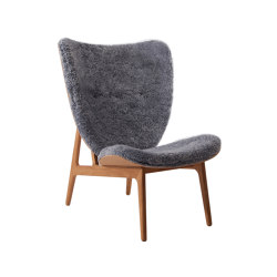 Elephant Chair, Natural / Sheepskin: Graphite | Sessel | NORR11