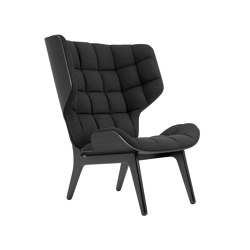 Mammoth Chair, Black / Wool: Coal Grey 067 | Fauteuils | NORR11