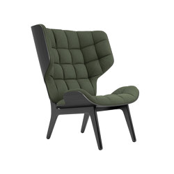 Mammoth Chair, Black / Wool: Forrest Green 053   Poltrone   NORR11