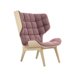 Mammoth Chair, Natural / Velvet: Rosewood 1670 | Sillones | NORR11