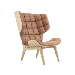 Mammoth Chair, Natural / Vintage Leather Camel 21004 | Armchairs | NORR11