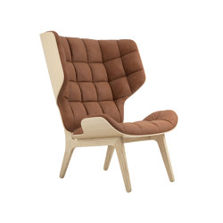 Mammoth Chair, Natural / Vintage Leather Rust 21002 | Armchairs | NORR11