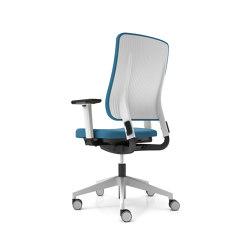 Drumback - Task Chair Tele Grey Premium | Office chairs | Viasit