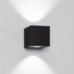 Cube XL duo black | Outdoor wall lights | Dexter