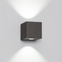 Cube XL duo grey | Outdoor wall lights | Dexter