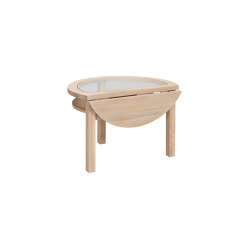 Inzel endtable dropleaf Ash Blonde | Side tables | Hans K