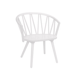 ZigZag lounge chair white   Chaises   Hans K