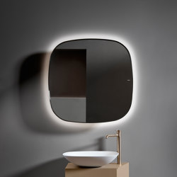 Forma Beveled mirror with Led Lighting | Bath mirrors | Inbani