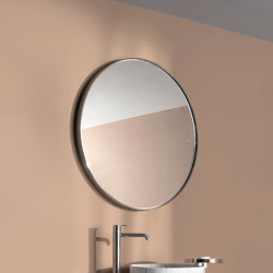 Giro Mirrors with Metallic Frames | Bath mirrors | Inbani
