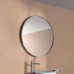 Giro Espejo simple con Marco Metálico | Espejos de baño | Inbani