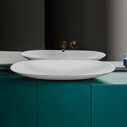 Forma Topsolid Top mounted washbasin L90 | Wash basins | Inbani
