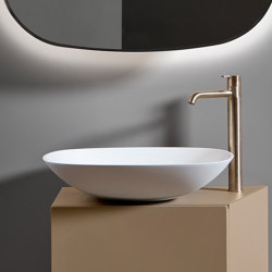 Forma Topsolid Top mounted washbasin L50 | Wash basins | Inbani