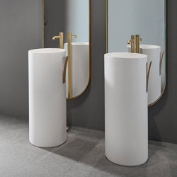 Giro Vasque sur pied Solidsurface | Wash basins | Inbani