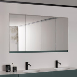 Strato Recessed Mirror Cabinet | Bath mirrors | Inbani
