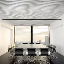 Basotect | designed acoustic baffle basotect | Sound absorbing ceiling systems | SPÄH designed acoustic