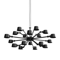 BOLT Chandelier | 18 arm | Suspended lights | Tonone