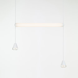 Puro Single Horizontal 1000 PC1012 | Suspended lights | Brokis