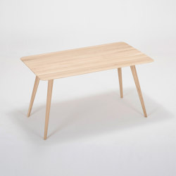 Stafa desk without shelf | 140x80x75 | Bureaux | Gazzda