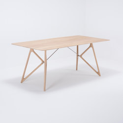 Tink table | 180x90x75 | oak | Dining tables | Gazzda