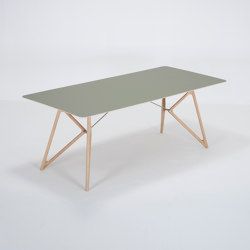 Tink table | 200x90x75 | linoleum | Dining tables | Gazzda