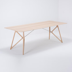 Tink table | 220x90x75 | oak | Dining tables | Gazzda
