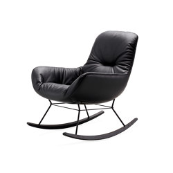 Leya | Rocking Lounge Chair | Armchairs | Freifrau Sitzmöbelmanufaktur