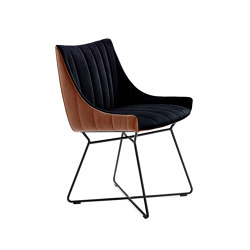 Rubie | Armchair Low | Chaises | FREIFRAU MANUFAKTUR